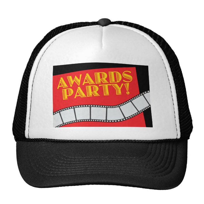 AWARDS PARTY TRUCKER HAT