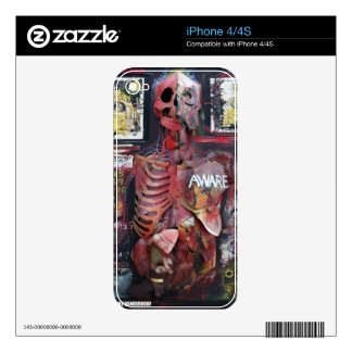 Aware - IPhone Skin Skin For The iPhone 4