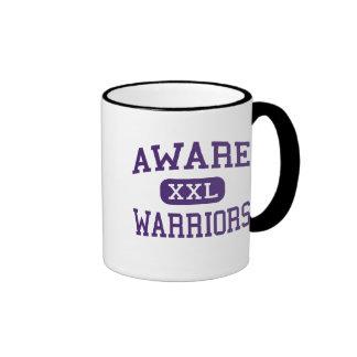 Aware - Warriors - High School - Anadarko Oklahoma Ringer Coffee Mug