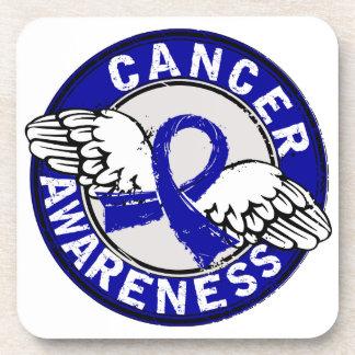 Awareness 14 Anal Cancer Coasters