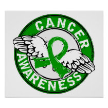 Awareness 14 Bile Duct Cancer Poster