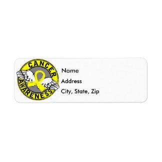 Awareness 14 Bladder Cancer Label