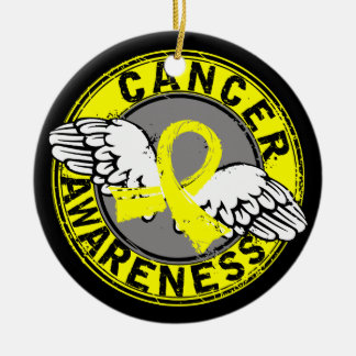 Awareness 14 Bladder Cancer Christmas Tree Ornaments