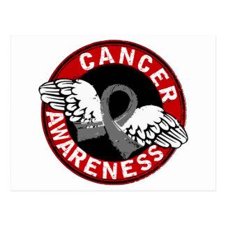 Awareness 14 Brain Cancer Postcard