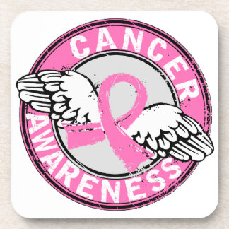 Awareness 14 Breast Cancer Drink Coasters