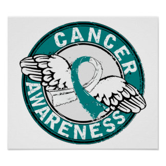 Awareness 14 Cervical Cancer Print