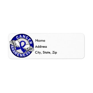 Awareness 14 Colon Cancer Label