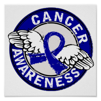 Awareness 14 Colon Cancer Print