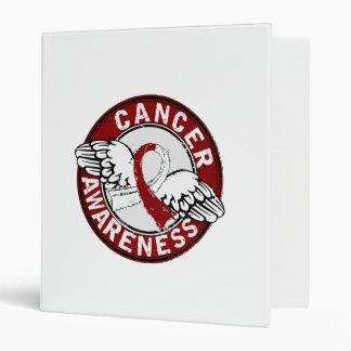Awareness 14 Head and Neck Cancer Vinyl Binders