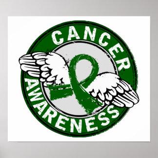 Awareness 14 Liver Cancer Poster
