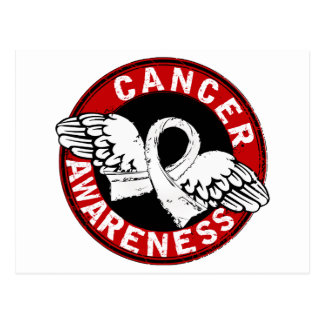 Awareness 14 Lung Cancer Postcard