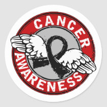 Awareness 14 Melanoma Classic Round Sticker