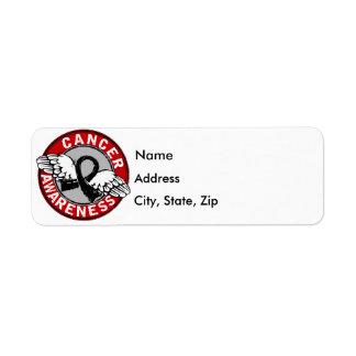 Awareness 14 Melanoma Label