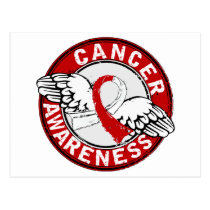 Awareness 14 Oral Cancer Postcard