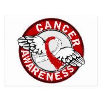Awareness 14 Oral Cancer Postcard