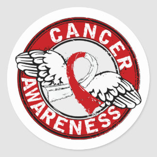 Awareness 14 Oral Cancer Round Stickers
