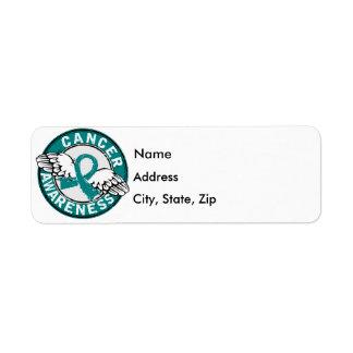 Awareness 14 Ovarian Cancer Label