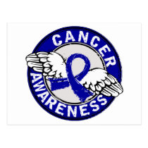 Awareness 14 Rectal Cancer Postcard