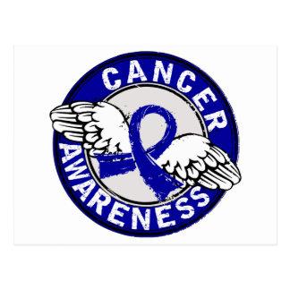 Awareness 14 Rectal Cancer Postcard