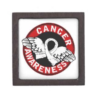 Awareness 14 Retinoblastoma Premium Jewelry Boxes