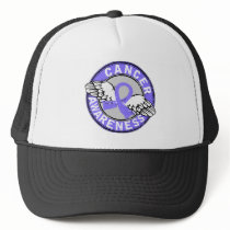 Awareness 14 Stomach Cancer Trucker Hat