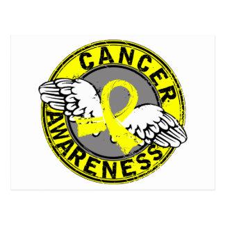 Awareness 14 Testicular Cancer Postcard