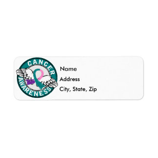 Awareness 14 Thyroid Cancer Label