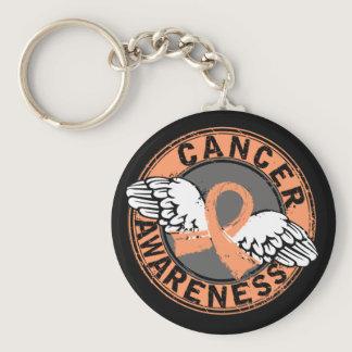 Awareness 16 Uterine Cancer Keychain
