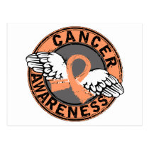 Awareness 16 Uterine Cancer Postcard