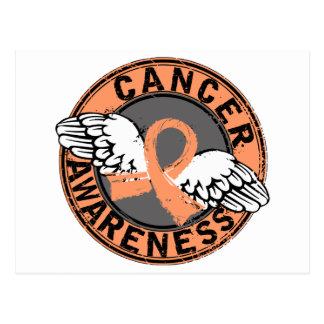 Awareness 16 Uterine Cancer Postcard