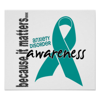 Awareness 1 Anxiety Disorder Poster