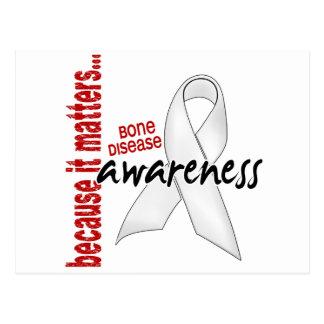 Awareness 1 Bone Disease Postcard