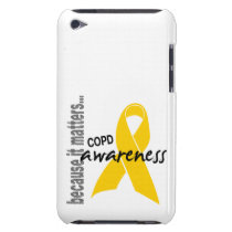 Awareness 1 COPD iPod Touch Case