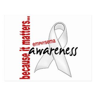 Awareness 1 Emphysema Postcards