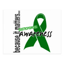 Awareness 1 Gastroparesis Postcard