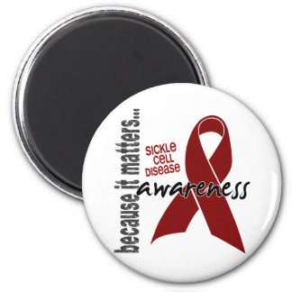 Awareness 1 Sickle Cell Disease 2 Inch Round Magnet