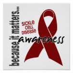 Awareness 1 Sickle Cell Disease Poster