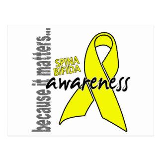Awareness 1 Spina Bifida Postcard