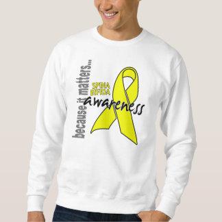 Awareness 1 Spina Bifida Sweatshirt