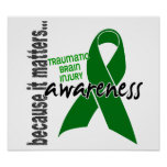 Awareness 1 Traumatic Brain Injury TBI Posters