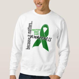 Awareness 1 Traumatic Brain Injury TBI Pullover Sweatshirt