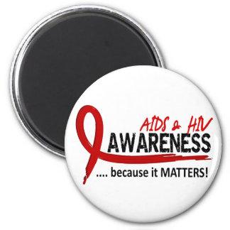 Awareness 2 AIDS Magnet