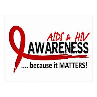 Awareness 2 AIDS Postcard