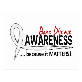 Awareness 2 Bone Disease Postcard