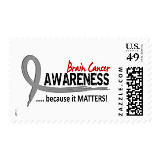 Awareness 2 Brain Cancer Postage