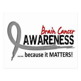 Awareness 2 Brain Cancer Postcard