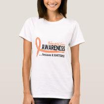 Awareness 2 Endometrial Cancer T-Shirt