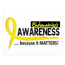 Awareness 2 Endometriosis Postcard