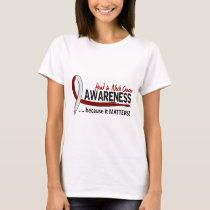 Awareness 2 Head Neck Cancer T-Shirt