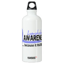 Awareness 2 Lymphedema Water Bottle